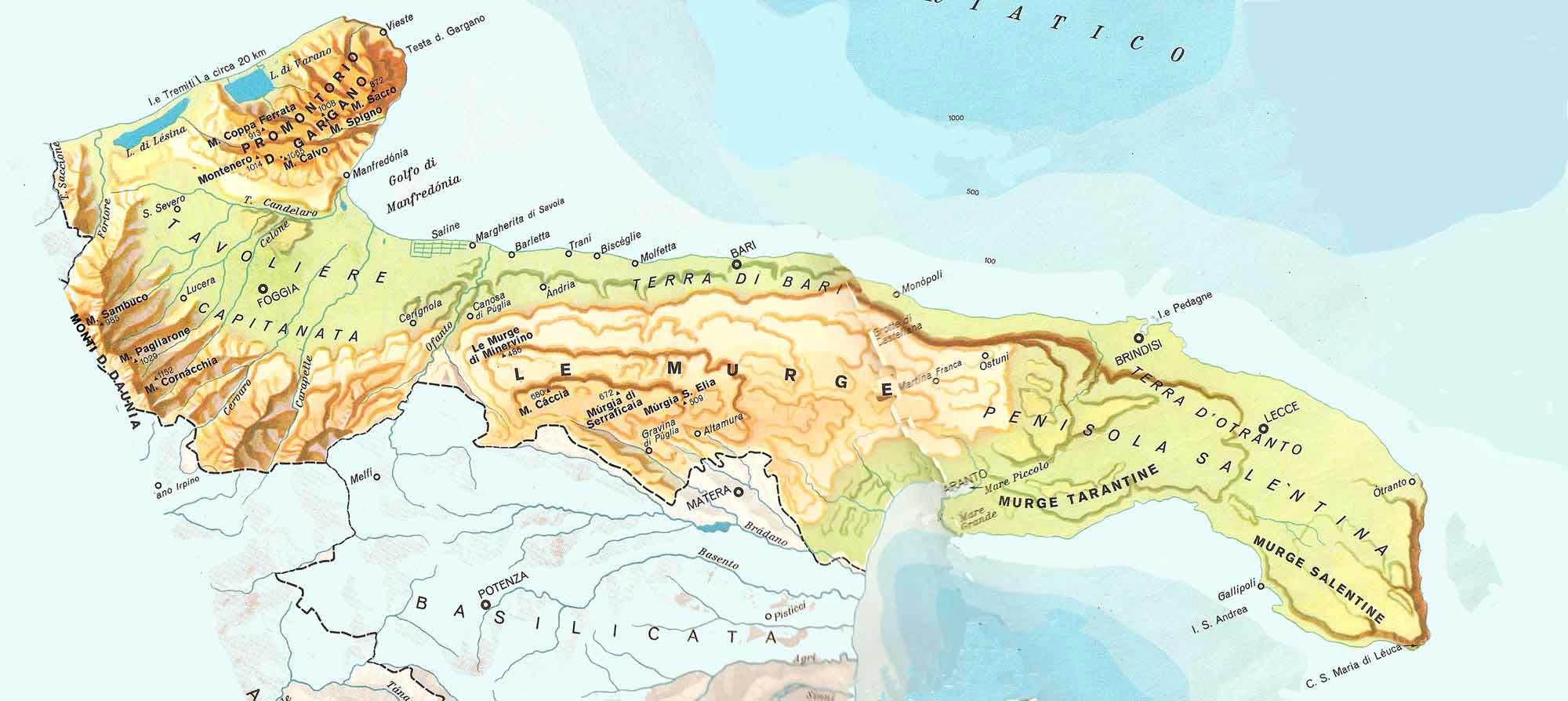 Cartina Monopoli Puglia